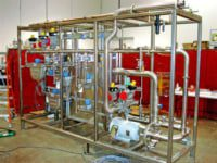 in-pipe continuous blending system