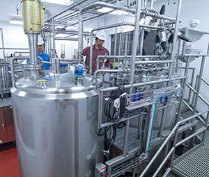 automated batch blending system