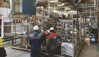 consumer products blending system install