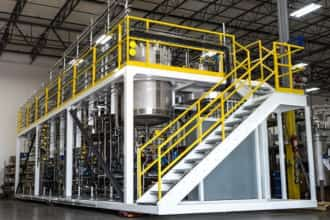 agricultural chemical modular process system