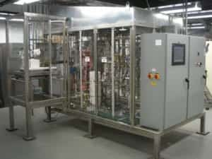 A biomass to liquid fuel system after startup