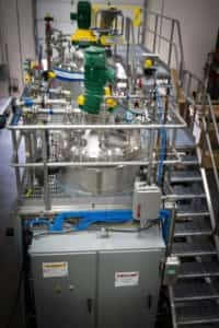 Industrial process systems are built off-site in EPIC's skid fabrication shop.