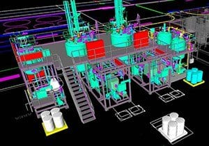 Design and pilot plant manufacturing