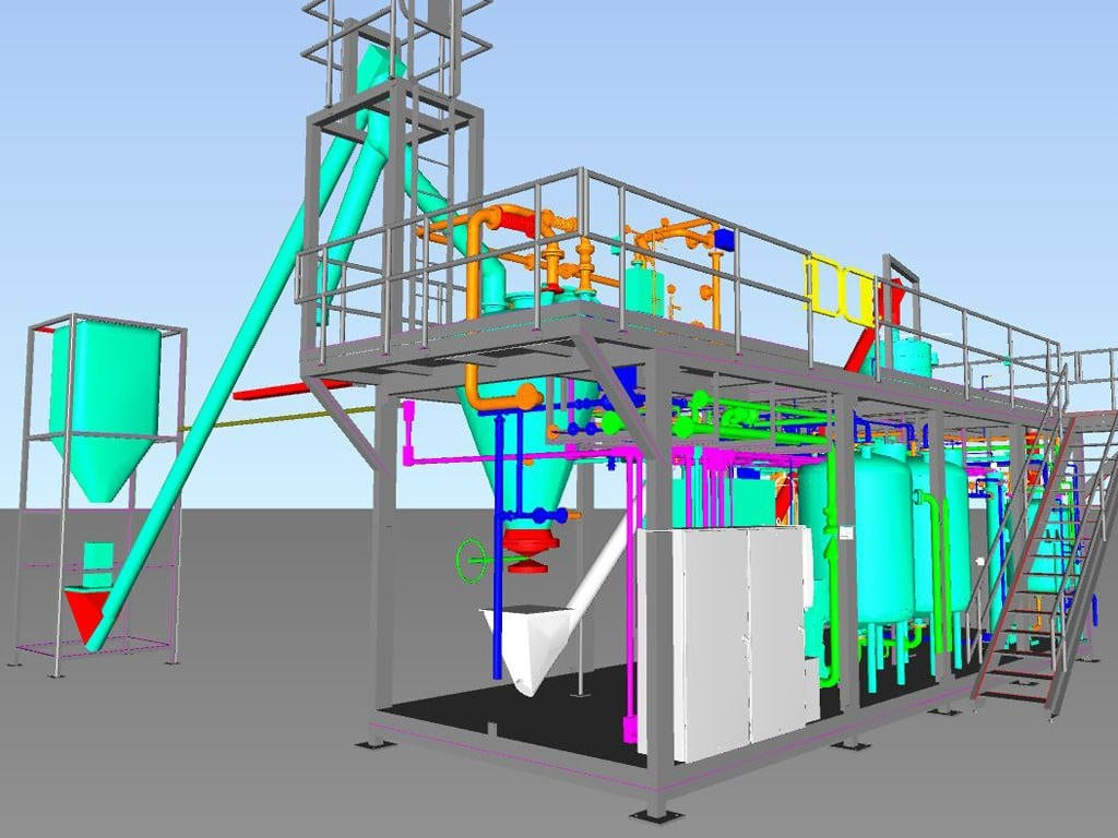 Production Plant Design