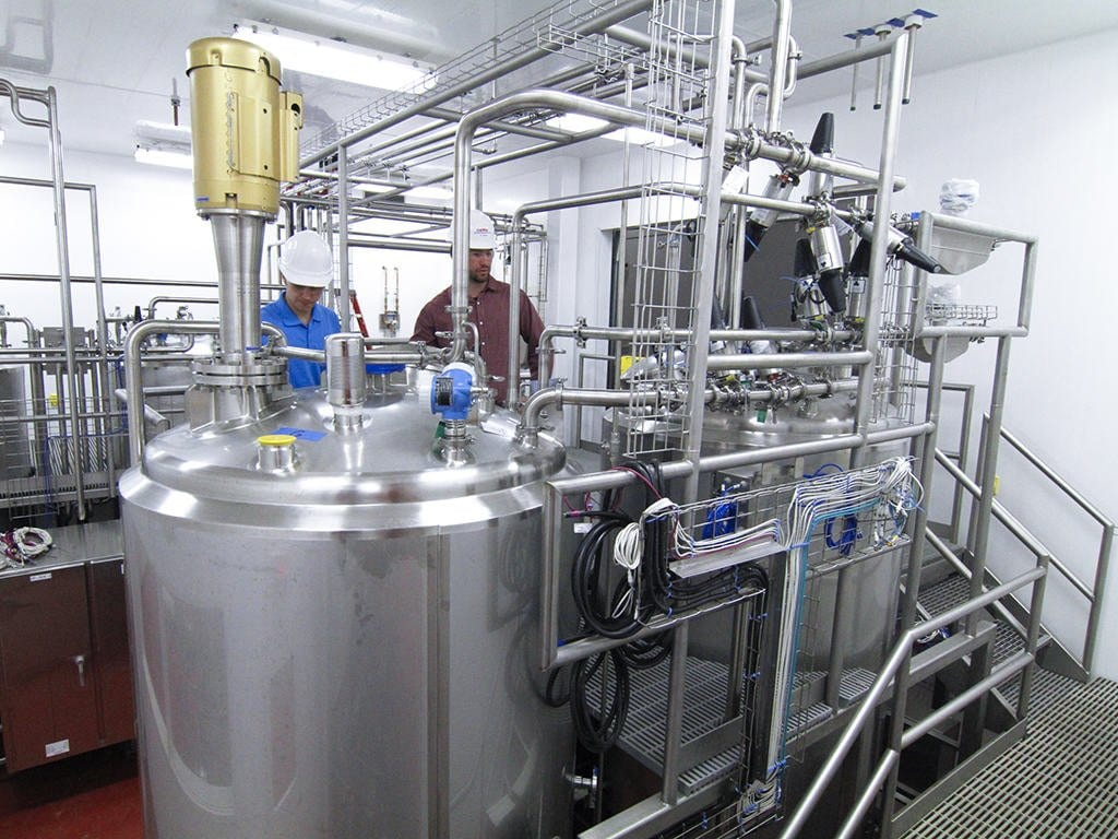 Commercial Plants Integrated into Food Processing Facility