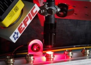 A custom vision inspection machine engineered by EPIC