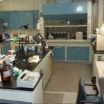 Lab where Agrafrom performs process formulation