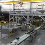 Overview of AgraForm packaging area